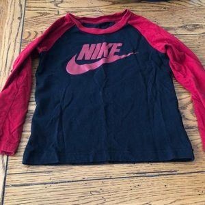 Boys Nike long sleeved shirt